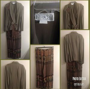 Dresses & Skirts - ⏬$25 2pc loose fitting culott pants outfit size 14